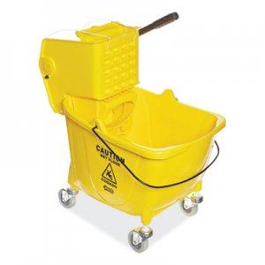 Boardwalk Pro-Pac Side-Squeeze Wringer/Bucket Combo, 8.75gal, Yellow BWK2635COMBOYEL 3485205