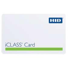 HID iCLASS ID Card 2001PGGMN