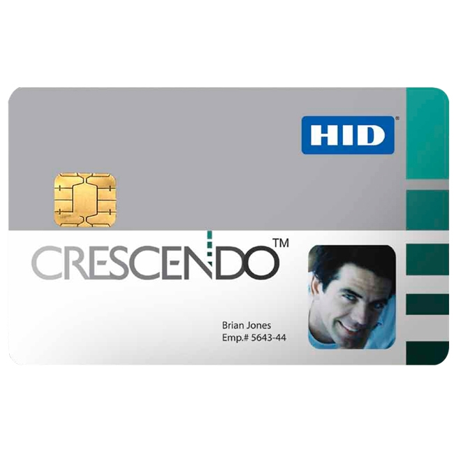 HID Crescendo ID Card 407A C700