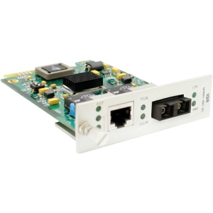 ACP - Memory Upgrades 100Base-TX to 100Base-LX SC SM 1310nm 40k Media Converter Card ADD-MCC1MSM40