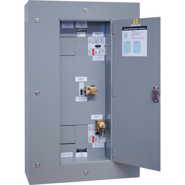 Tripp Lite 3 Breaker Maintenance Bypass Panel for SU60KX, SU60KTV SU60KMBPKX