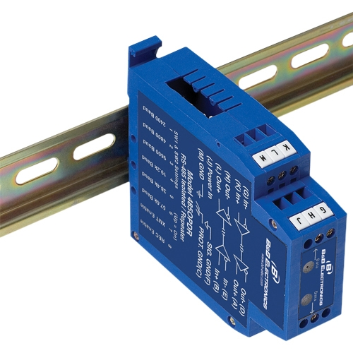 B+B RS-485/422 Isolated Repeater, DIN Rail 485OPDR