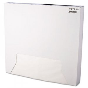 Bagcraft Grease-Resistant Paper Wrap/Liner, 15 x 16, White, 1000/Box, 3 Boxes/Carton BGC057015 P057015