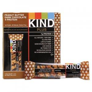 KIND Plus Nutrition Boost Bar, Peanut Butter Dark Chocolate/Protein, 1.4 oz, 12/Box KND17256 17256