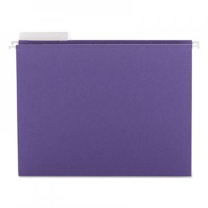 Smead Color Hanging Folders with 1/3-Cut Tabs, 11 Pt. Stock, Purple, 25/BX SMD64023 64023