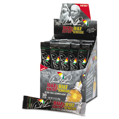 Arizona Arnold Palmer Half & Half Iced Tea Lemonade Powder Stix, 30 Packets/Box ARN72679 AZC72679