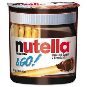 Nutella Hazelnut Spread and Breadsticks, 1.8 oz, 12/Box NUT80314 FEU80314