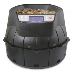 SteelMaster Coin Counter/Sorter, Pennies through Dollar Coins MMF200200C 200200C