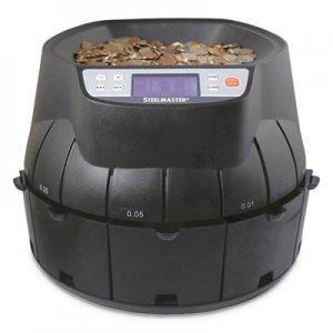 SteelMaster Coin Counter/Sorter, Pennies through Dollar Coins MMF200200C 200200C