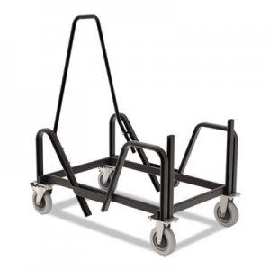 HON Motivate Seating Cart High-Density Stacking Chairs, 21.38w x 34.25d x 36.63h, Black HONMSCART HMSCART