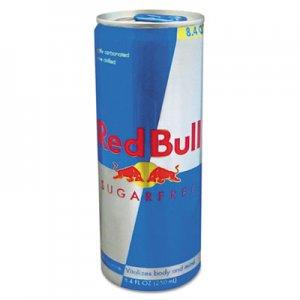 Red Bull Energy Drink, Sugar-Free, 8.4 oz Can, 24/Carton RDB122114 RBD122114