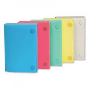 C-Line Index Card Case, Holds 100 3 x 5 Cards, Polypropylene, Assorted CLI58335 58335