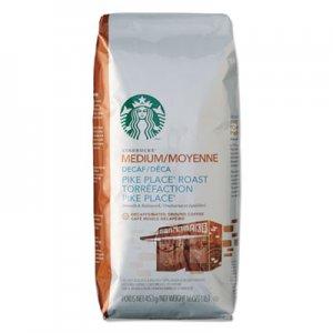 Starbucks Coffee, Ground, Pike Place Decaf, 1lb Bag SBK11029358 011029358