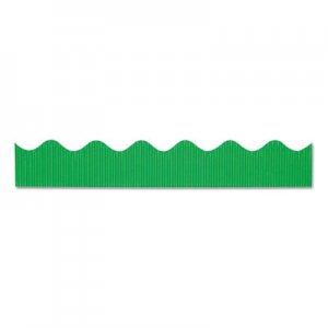 "Pacon Bordette Decorative Border, 2 1/4"" x 50 ft roll, Apple Green PAC0037136 0037136"