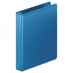 "Wilson Jones Heavy-Duty D-Ring View Binder w/Extra-Durable Hinge, 1"" Cap, PC Blue WLJ385147462 W385-14-7462PP"