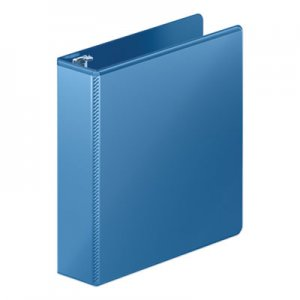 "Wilson Jones Heavy-Duty Round Ring View Binder w/Extra-Durable Hinge, 2"" Cap, PC Blue WLJ363447462 W363-44-7462PP"