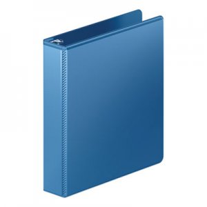 "Wilson Jones Heavy-Duty Round Ring View Binder with Extra-Durable Hinge, 3 Rings, 1.5"" Capacity, 11 x 8"