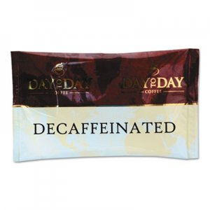 Day to Day Coffee 100% Pure Coffee, Decaffeinated, 1.5 oz Pack, 42 Packs/Carton PCO23004 23004