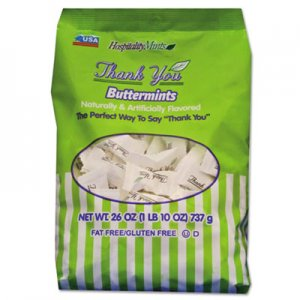 Hospitality Mints Thank You Buttermints Candies, 26 oz Bag HMT000501 HSP19061