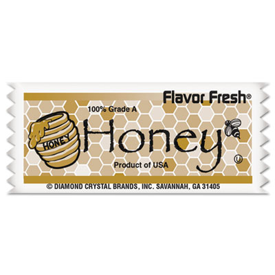 Diamond Crystal Flavor Fresh Honey Pouches, .317oz Packet, 200/Carton MKL79001 79001