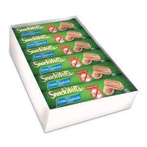 Nabisco SnackWell's Cookies, Vanilla Creme, 1.7 oz Pack, 48/Carton CDB00176 BNF01918