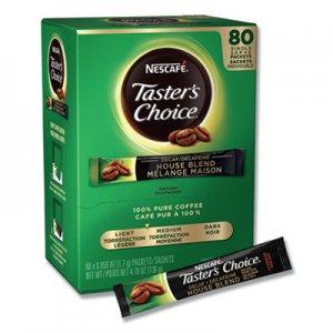 Nescafe Taster's Choice Stick Pack, Decaf, 0.06oz, 80/Box NES66488 00028000664886