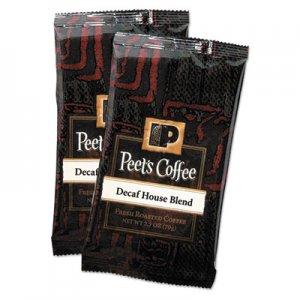 Peet's Coffee & Tea Coffee Portion Packs, House Blend, Decaf, 2.5 oz Frack Pack, 18/Box PEE504913 504913