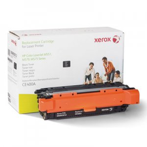 Xerox (CE400A) Compatible Remanufactured Toner, 5500 Page-Yield, Black XER006R03012 006R03012