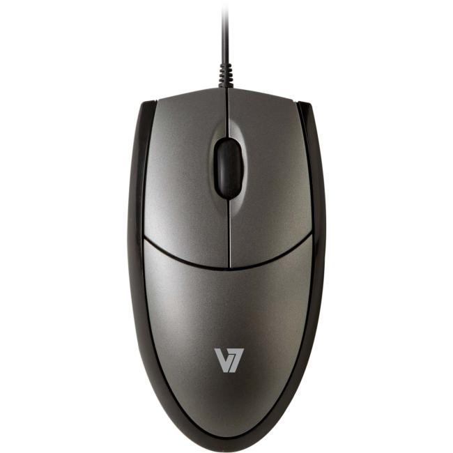 V7 Full Size USB Optical Mouse MV3000010-5NC MV3000