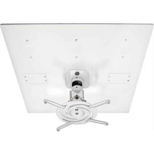 Amer Mounts Universal Drop Ceiling Projector Mount. Replaces 2x2 Ceiling Tile AMRDCP100KIT