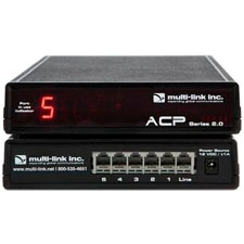 Multi-Link Out-of-Band Network Switch & Call Router - 5 Device Ports ACP-500