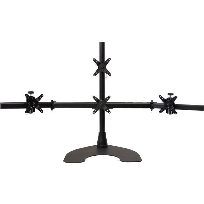 Ergotech Quad LCD Monitor Desk Stand 100-D28-B13