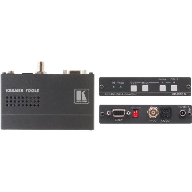 Kramer Computer Graphics Video & HDTV Scan Converter VP-501N