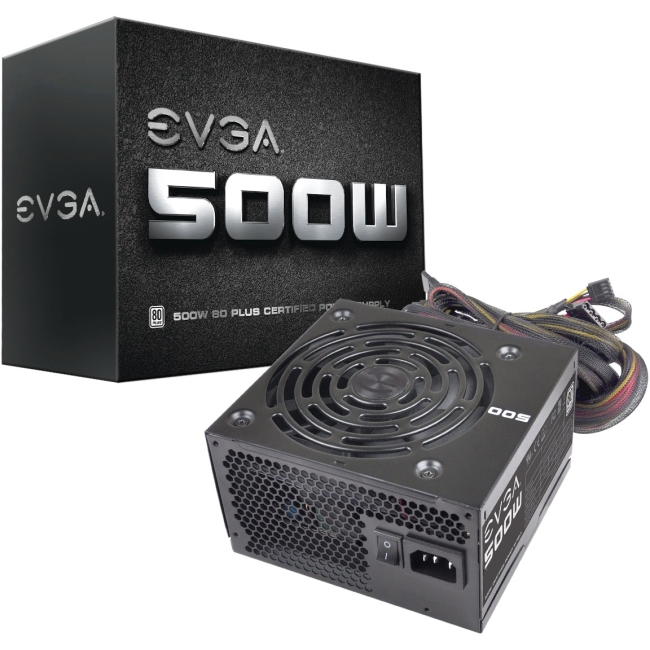 EVGA ATX12V Power Supply 100-W1-0500-KR