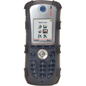 zCover Ruggedized Silicone Case fits ASCOM d62/i62 Wireless Handset, Grey AS62AHCR