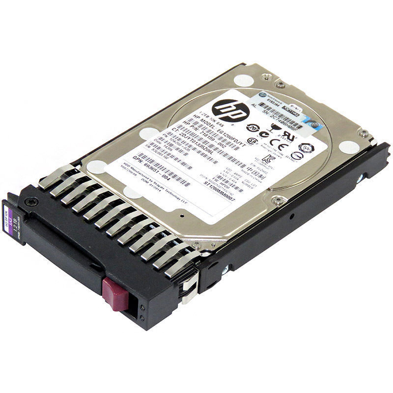 HP 1.2TB 6G SAS 10K 2.5IN DP ENT HDD 718160-B21