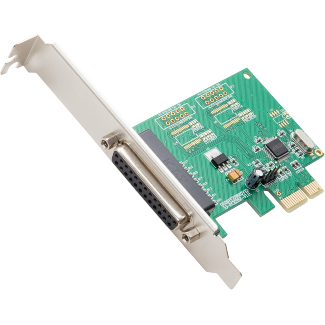 SYBA Multimedia 1-port Parallel PCI-e Controller Card SI-PEX10010