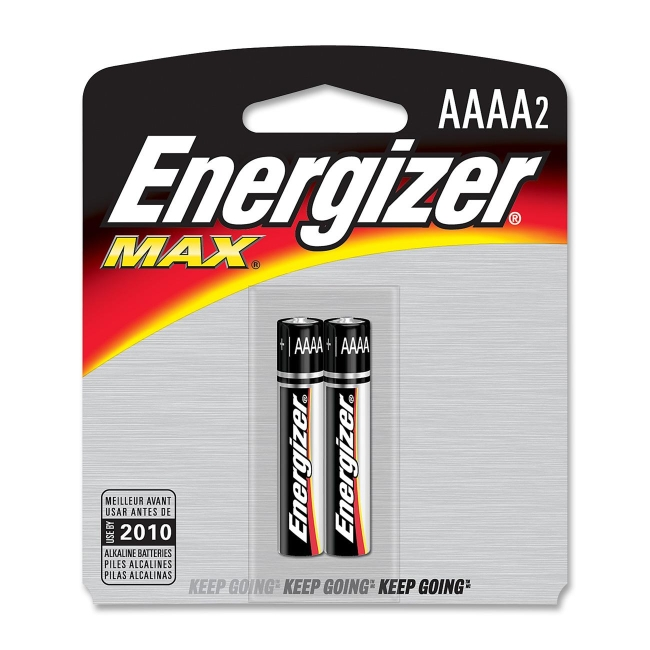 Energizer AAAA Alkaline Cell Battery E96BP-2