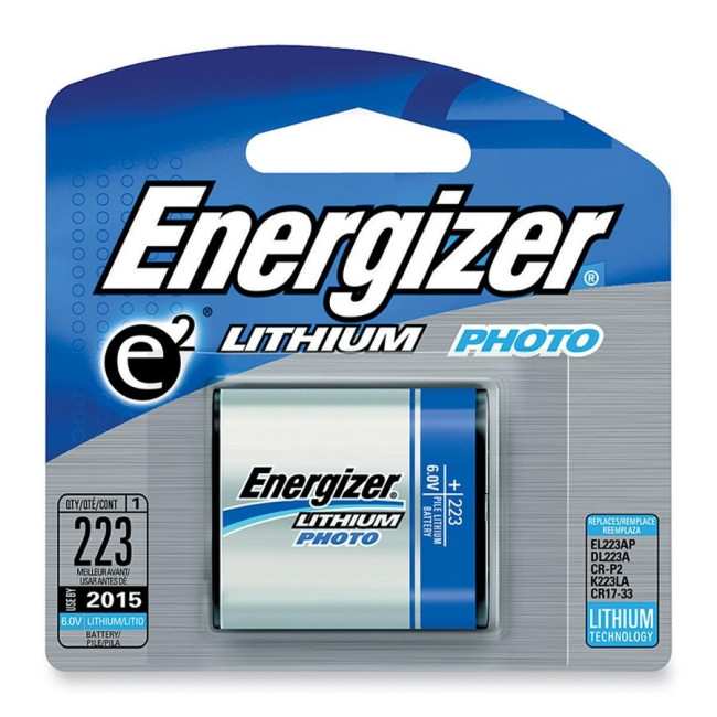 Energizer e2 Lithium Photo Battery Pack EL223APBP