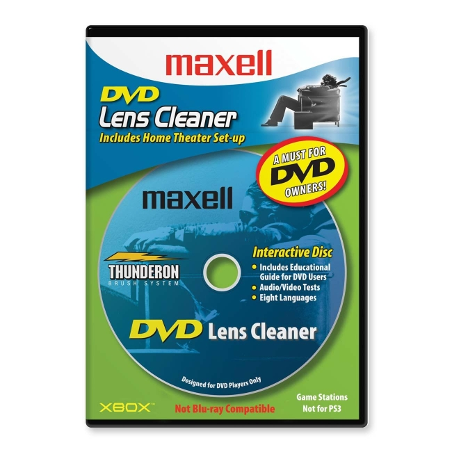 Maxell DVD Lens Cleaner 190059 DVD-LC