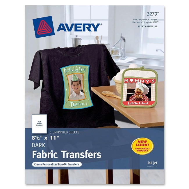 Avery Dark T-Shirt Transfer 3279