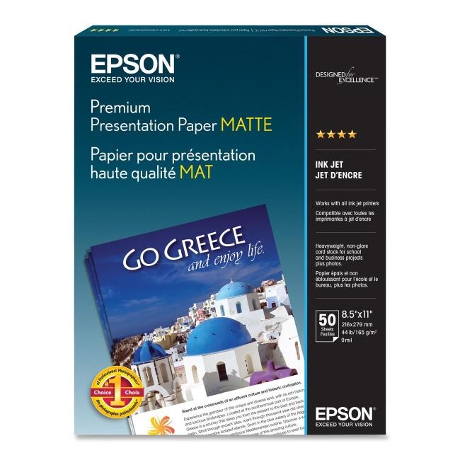 Epson Matte Heavyweight Inkjet Paper S041257