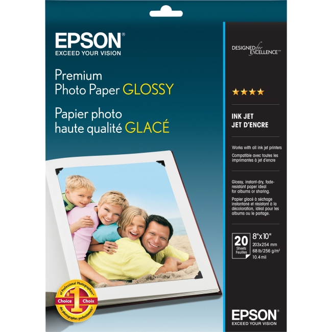Epson Premium Glossy Photographic Papers S041465