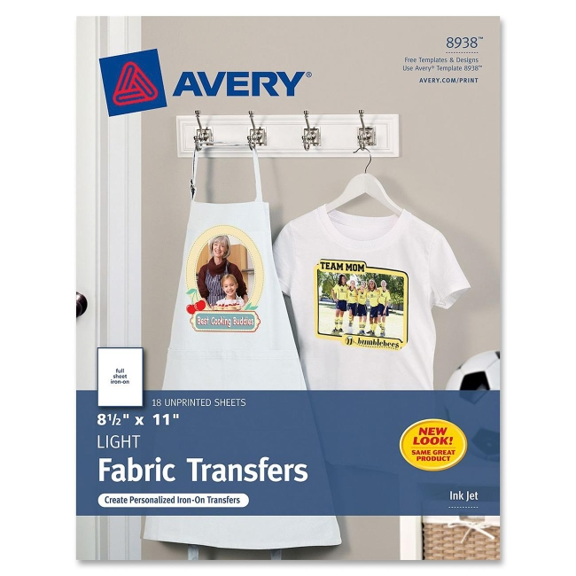Avery T-Shirt Transfer 8938