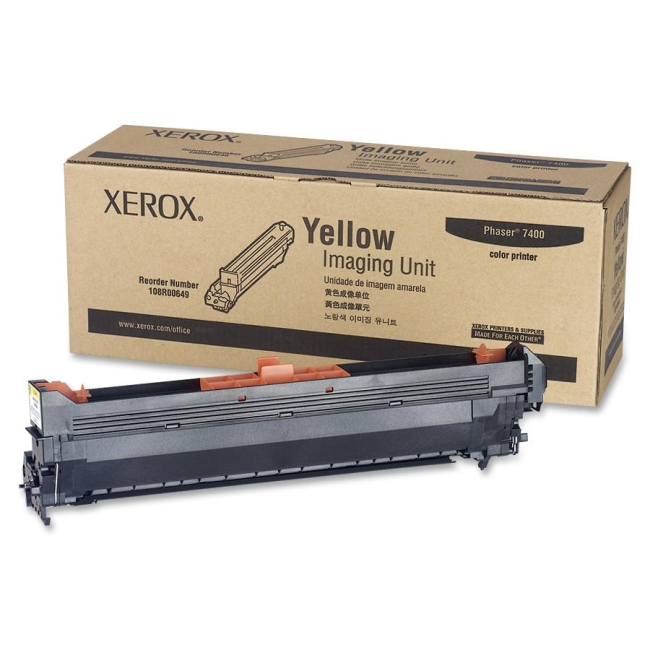 Xerox Yellow Imaging Unit For Phaser 7400 108R00649
