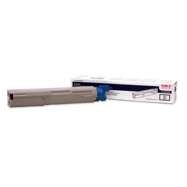 Oki High-Capacity Black Toner Cartridge 43459304