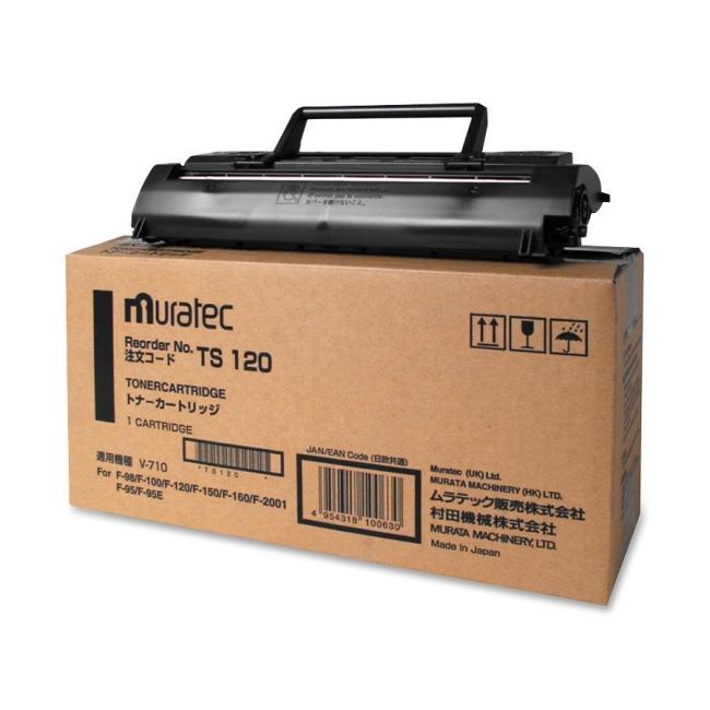Muratec Black Toner Cartridge TS120