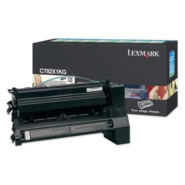 Lexmark Extra High Yield Return Program Black Toner Cartridge C782X1KG