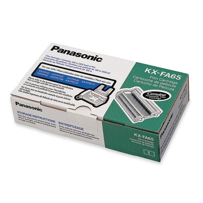 Panasonic Black Ribbon Cartridge KX-FA65