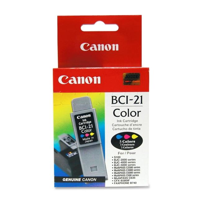 Canon Tri-Color Ink Cartridge 0955A003 BCI-21Clr